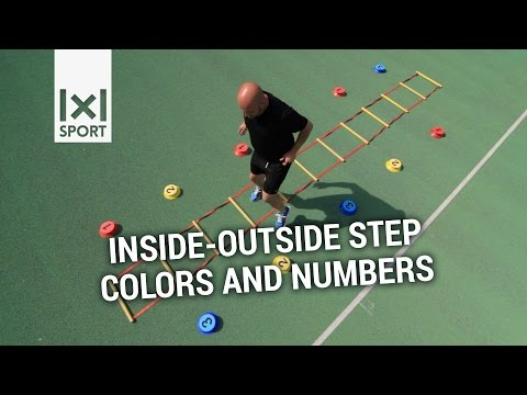 Visual Coordination Training - New and innovative agility ladder drill