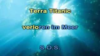Peter Schilling Terra Titanic (deutsch version) karaoke.flv