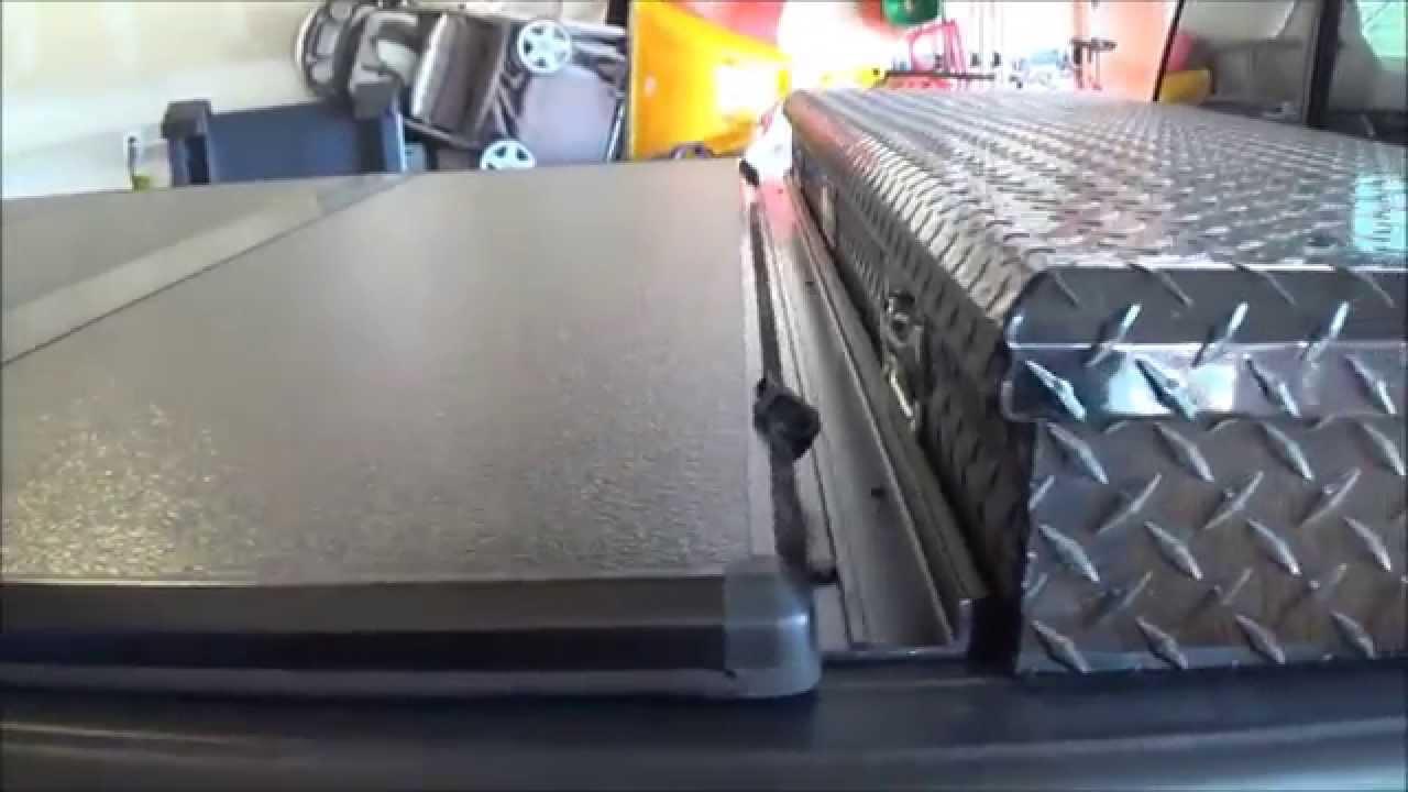 Extang Hard Fold Tonneau Cover 2013 F150 Youtube