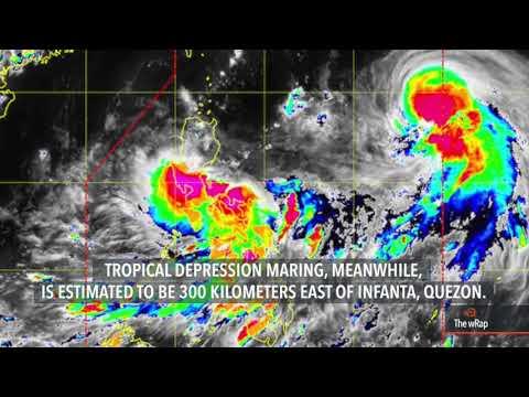Typhoon Lannie, Tropical Depression Maring both in PAR