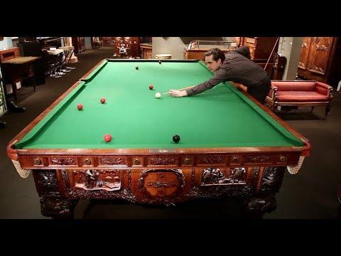 Award-winning Australian Billiard Table from M.S. Rau Antiques