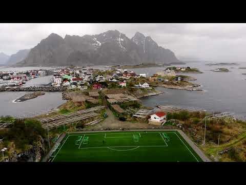 DJI Mavic Air shot in Lofoten Islands, Norway