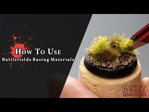 How To Use: Battlefields Basing Materials