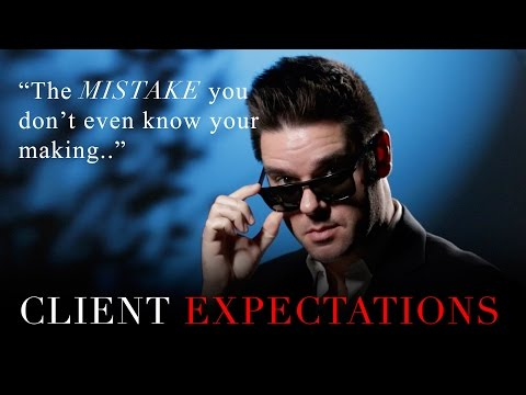 Client Expectations. Where photography ends, and business starts.