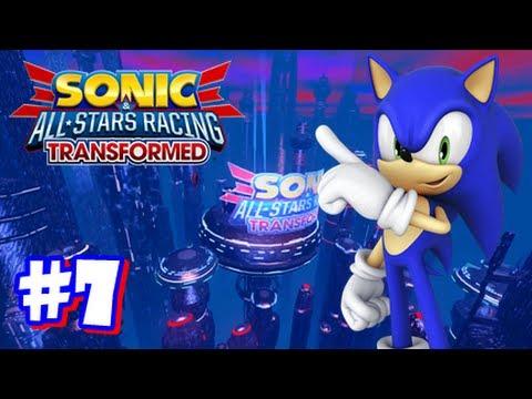Sonic & All Stars Racing Transformed Wii U - World Tour - Part 7