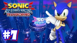 Sonic & All Stars Racing Transformed Wii U - World Tour - Part 7