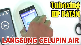 Unboxing Langsung Celupin AIR.!!! Sony Xperia Z4 Docomo
