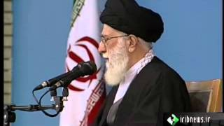 Ayatollah Khamenei traveled to Qum and warned supporters about upcoming presidential election