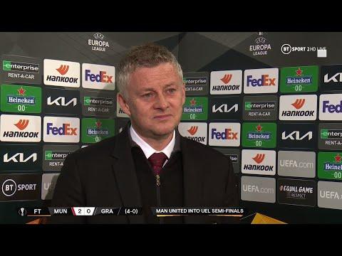 """It feels like a proper European semi-final"" Roma tie excites Man United boss Ole Gunnar Solskjaer"