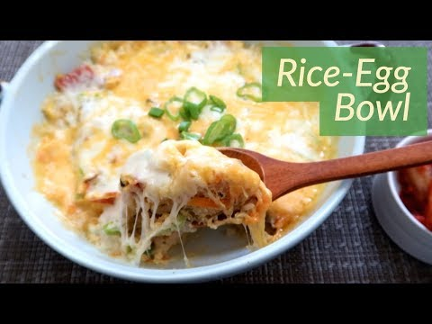 Breakfast Idea: Rice Egg Bowl!