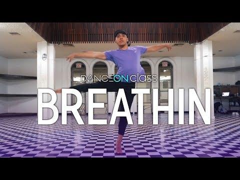 Ariana Grande - breathin  Brian Esperon Choreography  DanceOn Class