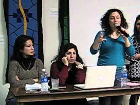 Three Palestinian Women 2015 03 08 Q&A Part 1 of 2