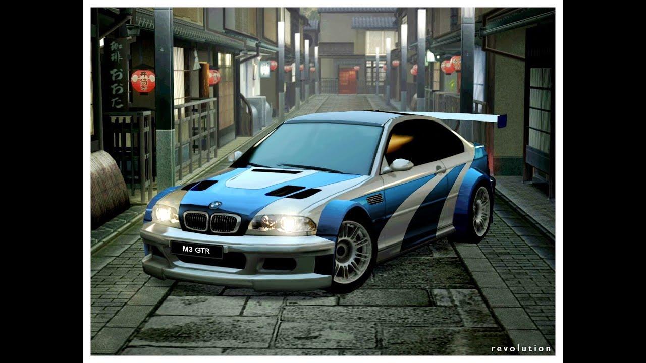 NFSMW BMW M GTR Montage YouTube - 2005 bmw m3 gtr for sale