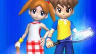Mario Tennis: Power Tour opening