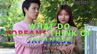 일본에 대한 한국청년들의 생각 How do Koreans Think of Japan ? 韓国人に日本の印象をきいてみた