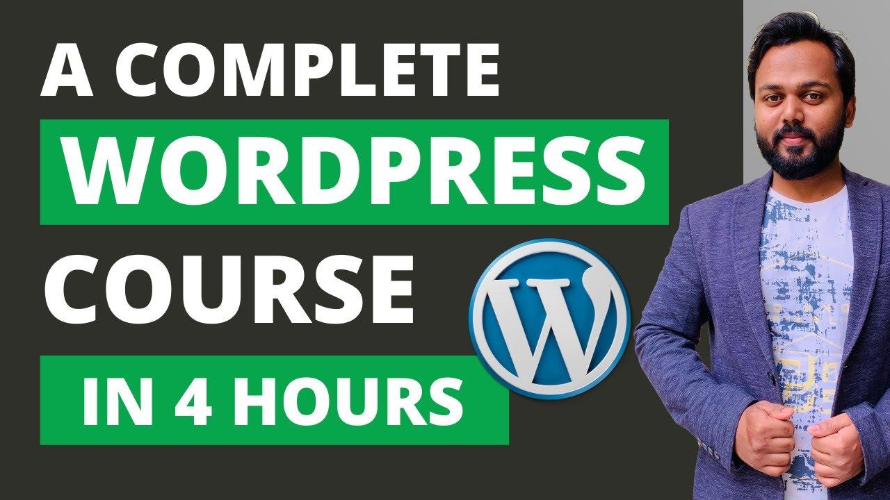 WordPress Complete Tutorial for Beginners Step by Step