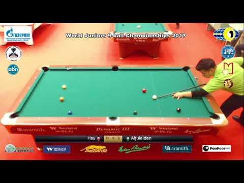 Hsu Yi Fu v Aljulaidan Sulaiman Mohammad World Juniors 9-ball Championship 2017