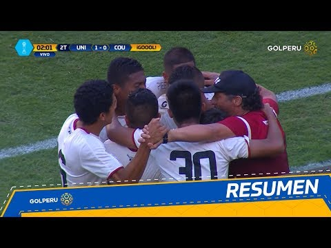 Resumen - Universitario vs Comerciantes Unidos (1-0)