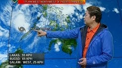 UB: Weather update as of 6:03 a.m. (January 3, 2018)