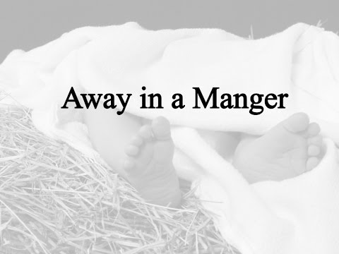 Away in a Manger (Hymn Charts with Lyrics, Contemporary)