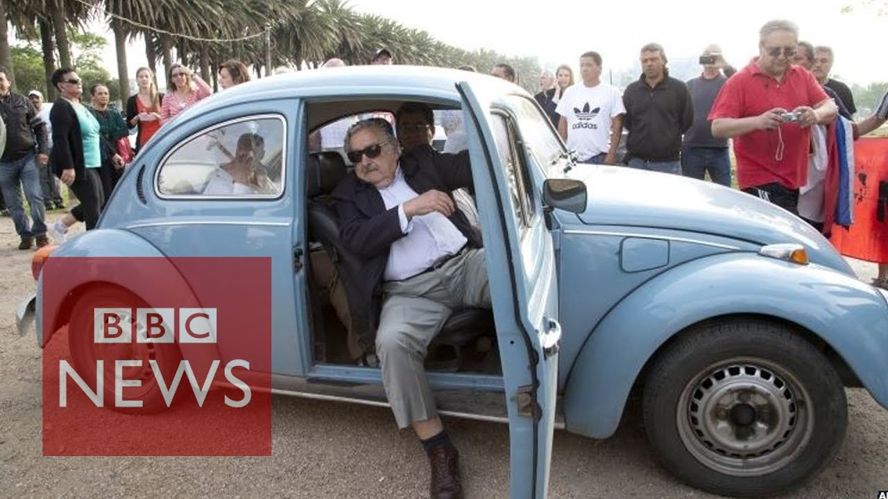 World's 'poorest president' Uruguay's Jose Mujica & his $1m VW