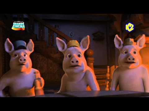 I tre porcellini e il lupo... mannaro