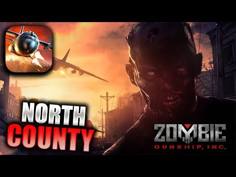 ZOMBIE GUNSHIP SURVIVAL Walkthrough Gameplay Part 3 - North County (iOS Android)
