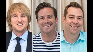 "Owen Wilson, Armie Hammer And Brian Fee Talk ""Cars 3"""