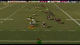 Jonah Lomu Rugby PS1 - Classic Match 1 - New Zealand V South Africa - Rugby World Cup Final 1995