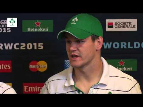 Irish Rugby TV: Squad Update With Michael Kearney & Jonathan Sexton