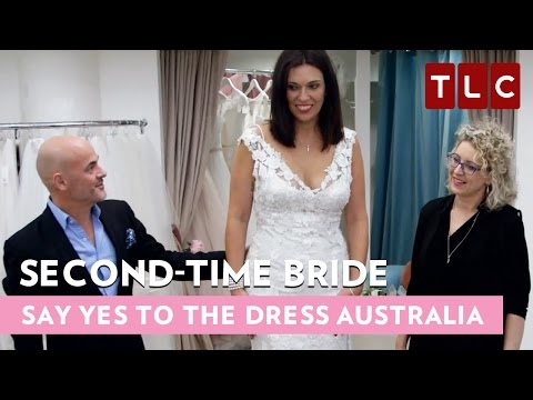 Second-time Bride | Say Yes To The Dress Australia | Bride Day Fridays