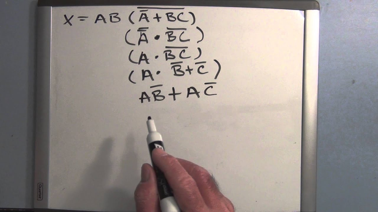 Boolean Algebra Logic Circuit Simplification