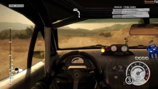 Colin McRae: DiRT 2 - PC Demo Morocco Race Gameplay