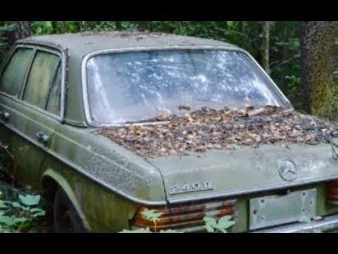 Пошли за грибами а нашли 10 криминальных авто из 90-х годов