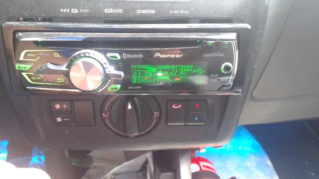 seat ibiza 6k2 iii custom 1 din radio how to link. Black Bedroom Furniture Sets. Home Design Ideas