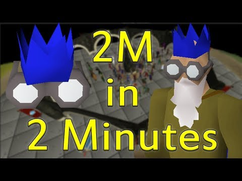 How I Made 2M in 2 Minutes With A DAILY Money Making Method!! [Old School Runescape]