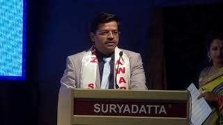 Shri Vipul Kasar speech on Suryadatta Foundation Day 2019