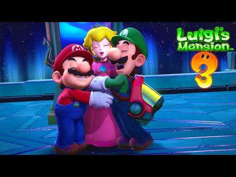 KING BOO FINAL BOSS + THE ENDING!!   Luigi's Mansion 3