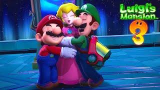 KING BOO FINAL BOSS + THE ENDING!! | Luigi's Mansion 3