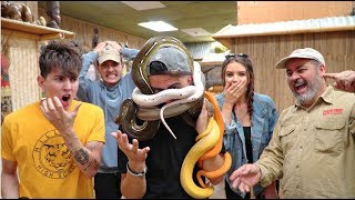 I EXPERIENCED MY WORST NIGHTMARE // overcoming my fear of snakes | Sebastian Gomez