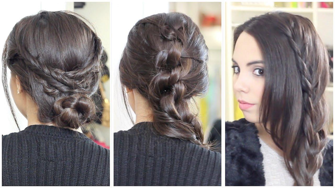 3 peinados bonitos y f ciles what the chic youtube - Peinados faciles y bonitos ...