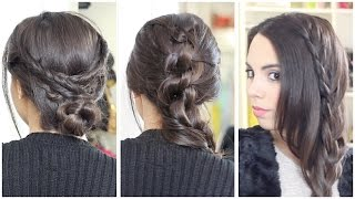 3 Peinados bonitos y fáciles   What The Chic Thumbnail