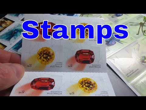 Some Australian 2017 Postage Stamps