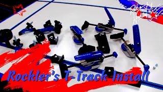 Rockler T-track Installation