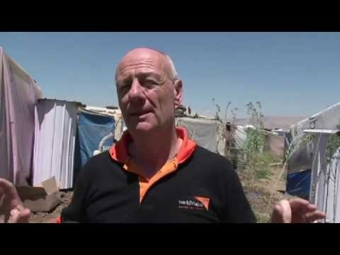"Tim Costello visits a Syrian refugee camp: ""This is an enormous crisis"""