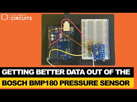 Getting Started with the Bosch BMP180 Sensor