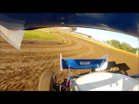 Bill Balog WoO Qualifying at Cedar Lake Speedway