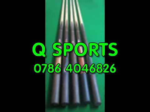 Q-Sports Snooker And Pool Tables, Free Fitting, Cues And Accessories.