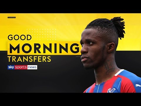 Is Wilfried Zaha set for a shock move to Everton? | Good Morning Transfers