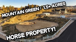 Mountain Green Utah Horse Property for Sale: 5-car garage, 1.5+ acres (Real Estate)